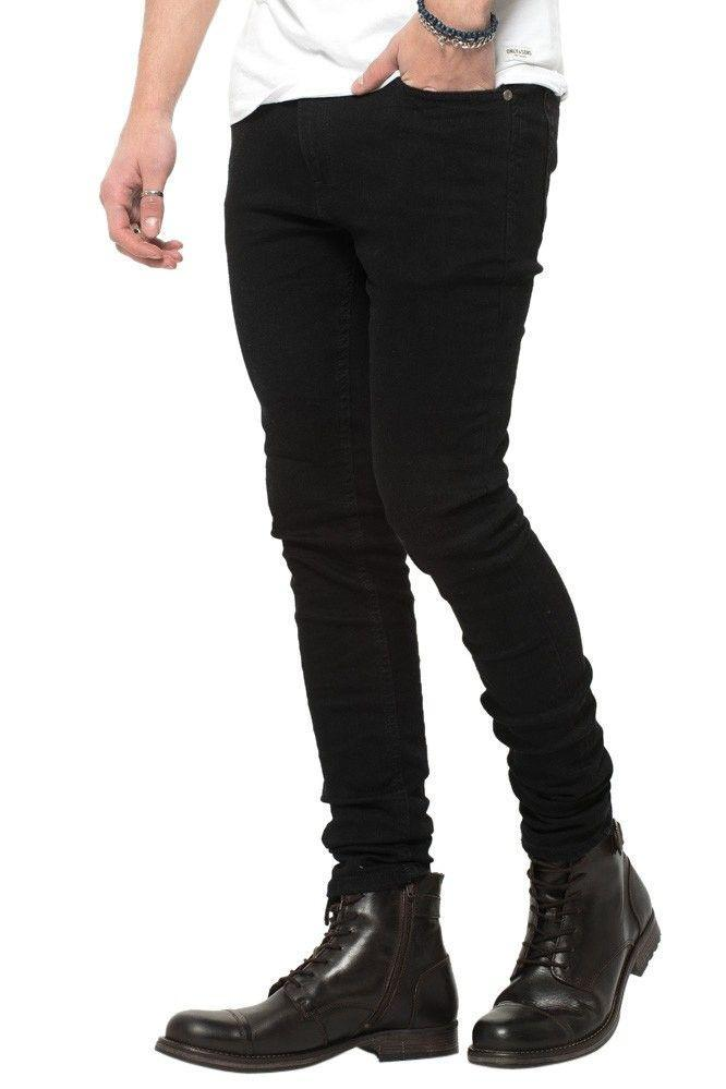 Jeans-tilbud: Basic Slim Fit Jeans + Knee Cut Slim Fit Jeans