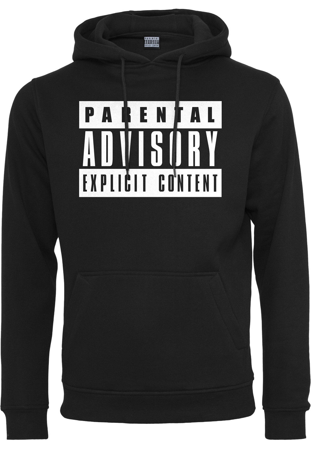 Parental Advisory Hoody - Black