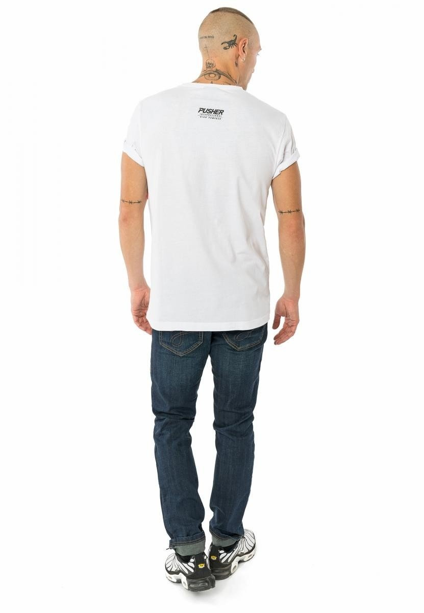 Power tee - White
