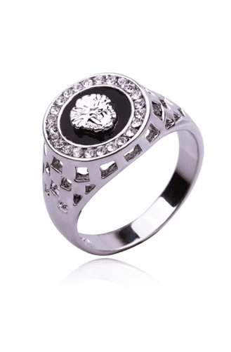 Prime Jewelry - Silver Medusa Ring