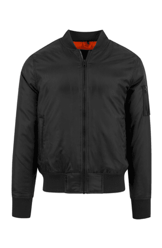 Basiz Bomber Jacket - Black