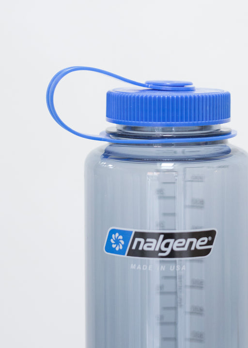 Nalgene - Wide Mouth Bottle Tritan - 1000ml - Gray/Blue (4513937686610)