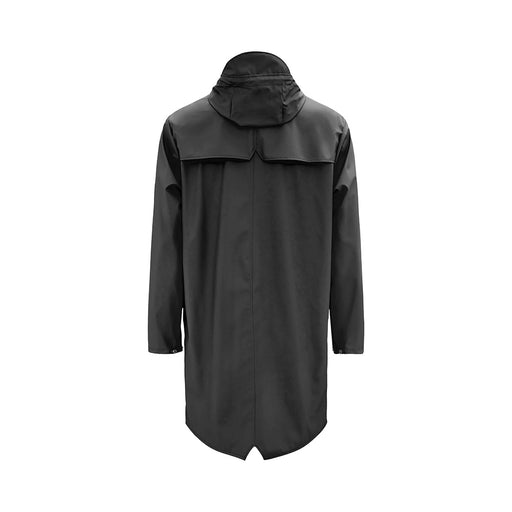 Rains - Long Jacket - Sort - SOLEMARKET (4093571563602)