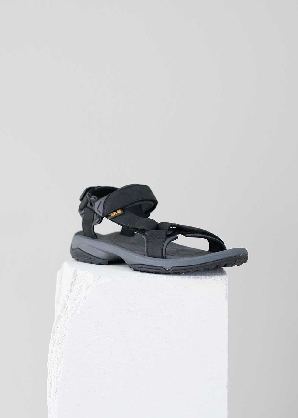 Teva - Terra Fi Lite Leather - Herre sandal - Sort (4486060048466)