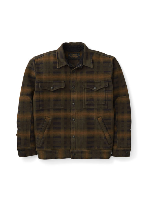 Filson - Beartooth Camp Jacket - Black Olive Brown