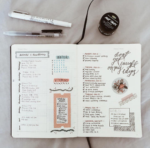 Bullet Journal: Tips 'n' things