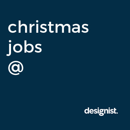 Christmas jobs at designist.