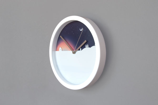 night and day clock at designist