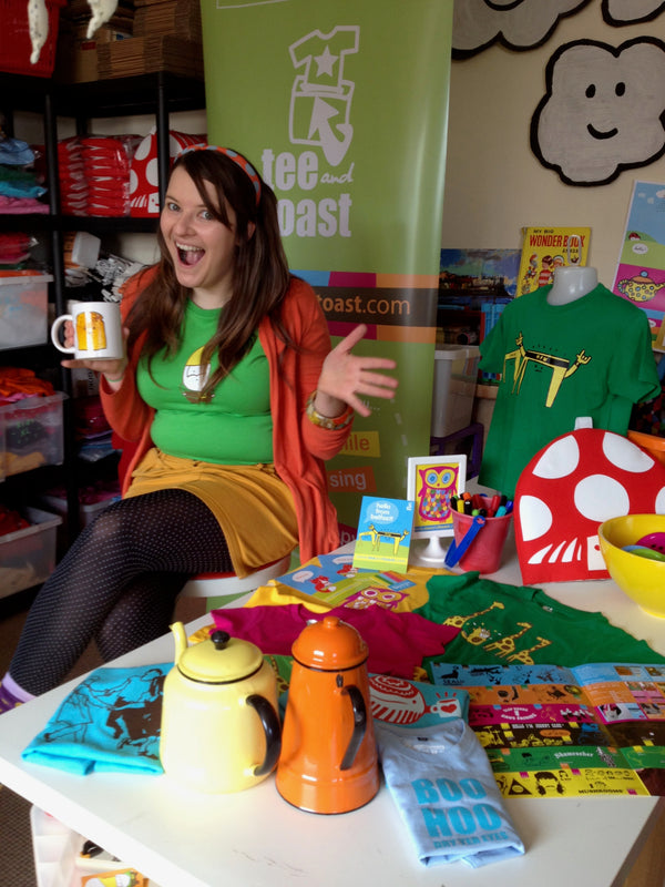 Q&A With Claire Mullan from Tee & Toast