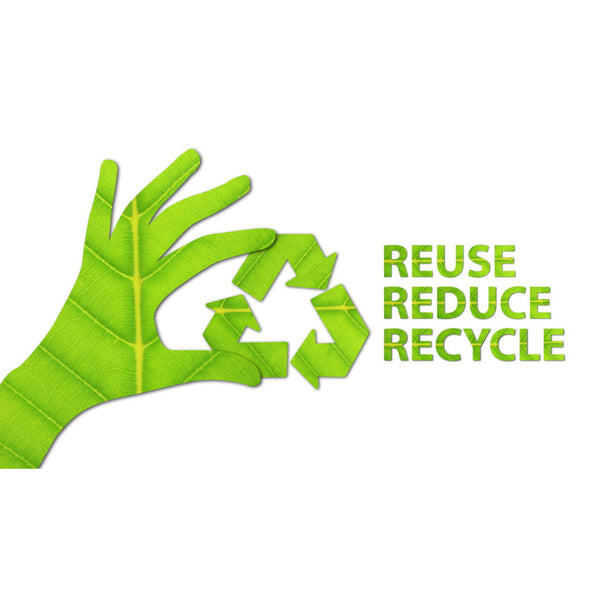 Reduce, Reuse, Repair and then Recycle