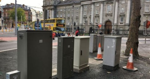Mini-Stonehenge at College Green