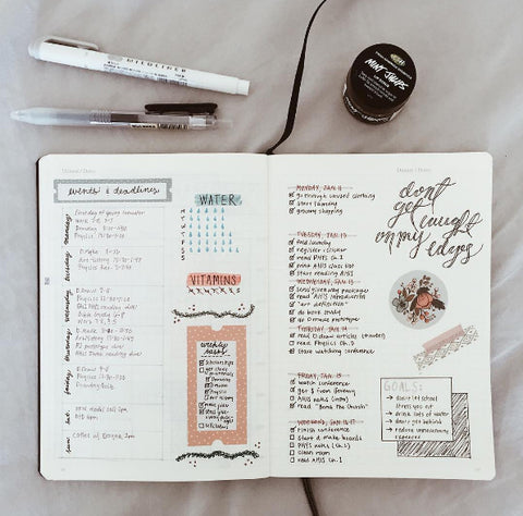 Washi Tape in BuJo
