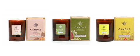 handmadde soap company candles