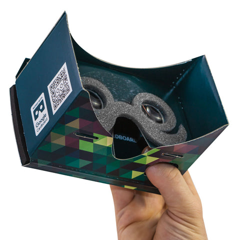 Mr Cardboard virtual reality viewer
