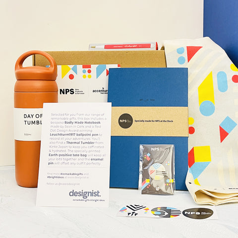 corporate gift box with designist