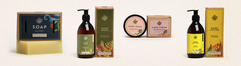 handmade soap company products