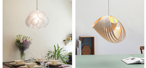 Nautica and Swirl lampshades