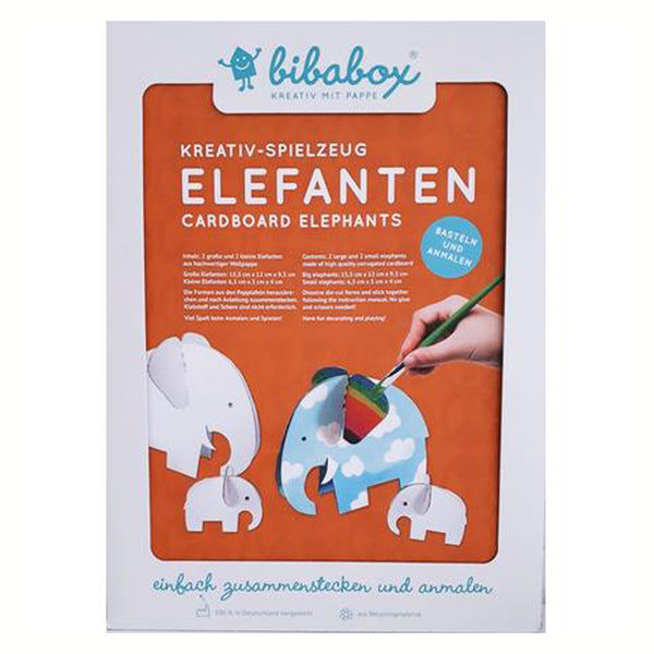Bibabox - Cardboard Elephant Kit