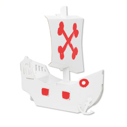 Bibabox - Cardboard Pirate Ship Kit