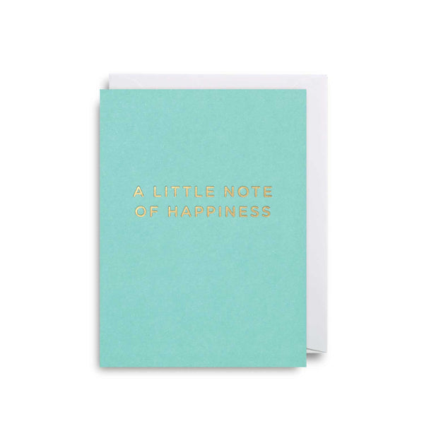 A Little Note of Happiness: Mini Card