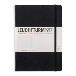 Address Book - A5 - Black