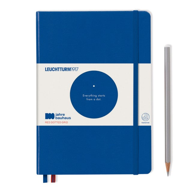 Leuchtturm1917 100 Years Bauhaus A5 Hardcover Notebook - Royal Blue