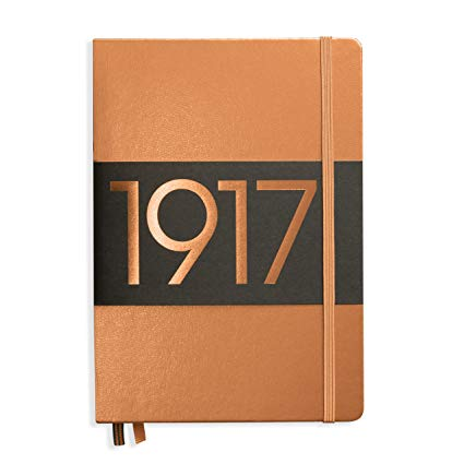 Leuchtturm1917 A5 Hardcover Notebook - Copper - Dotted