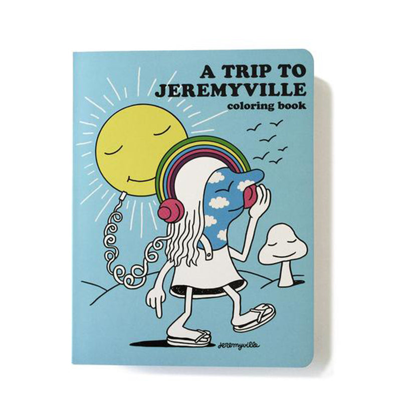 A Trip to Jeremyville - Adult Colouring Book