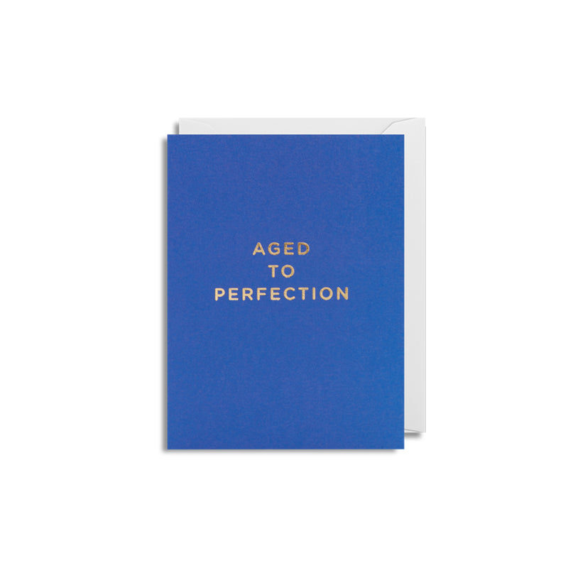 Aged To Perfection: Mini Card
