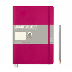 Leuchtturm1917 B5 Soft Cover Notebook - Berry - Dotted