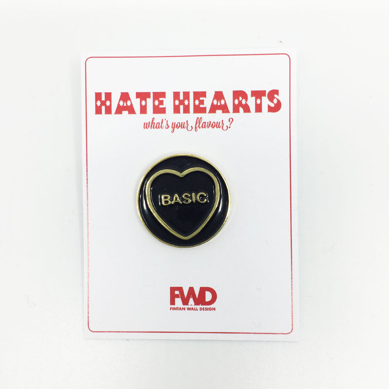 Basic Enamel Pin