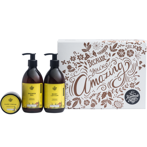 Because You're Amazing Gift Set by The Handmade Soap Co.