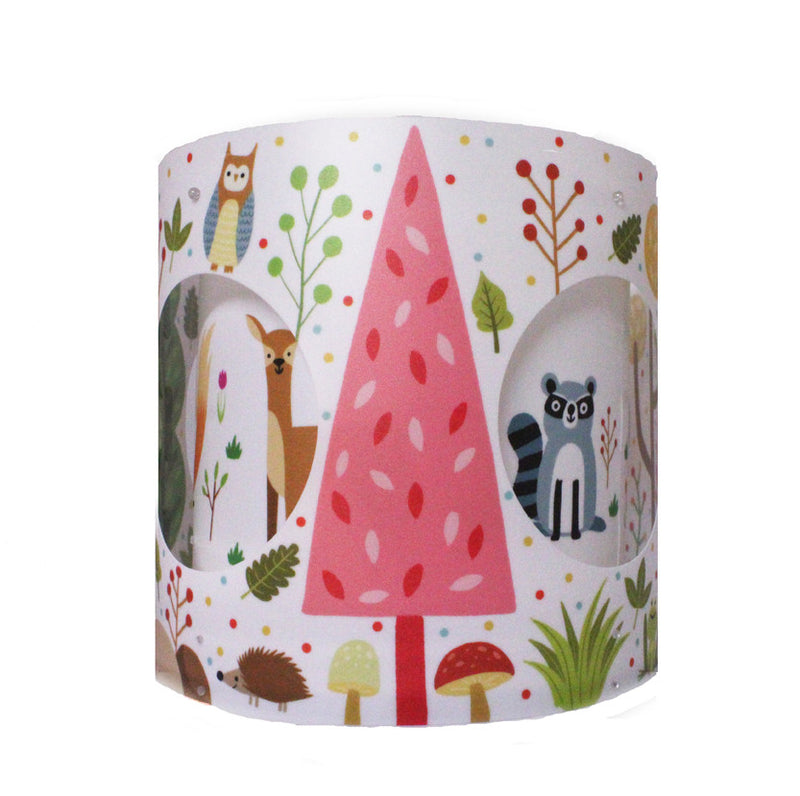Chris Judge Woodland Rotating Lampshade