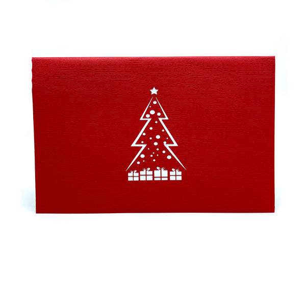 Christmas Tree & Presents Pop Up Card