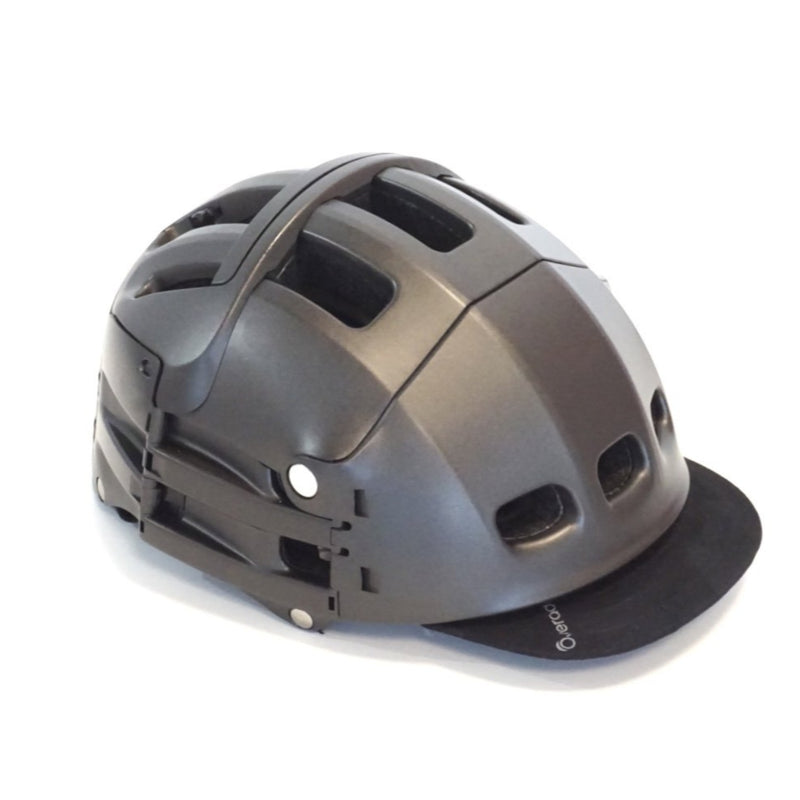 Plixi Folding Bike Helmet - Grey