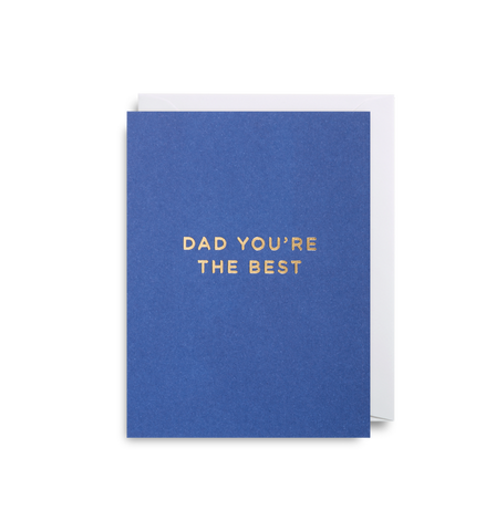 Dad You're the Best: Mini Card