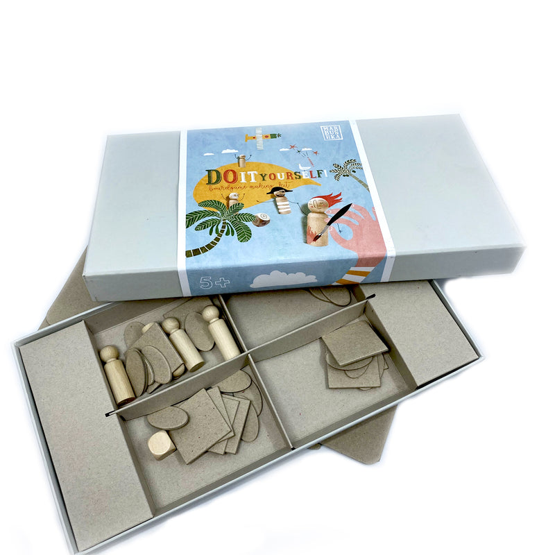 Do It Yourself Board Game Making Kit
