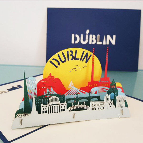 Dublin's Fair City Pop Up Card