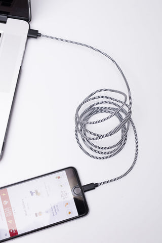Extra Long Braided iPhone Cable