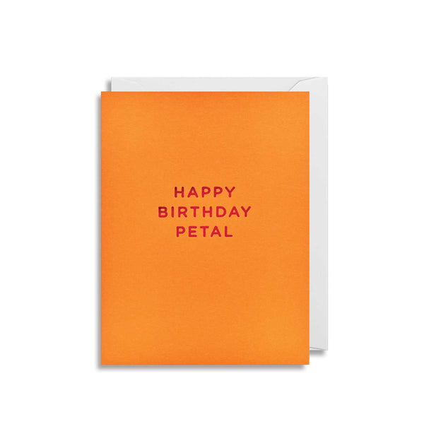 Happy Birthday Petal - Mini Card