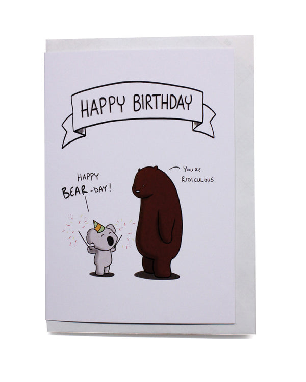 Happy Bear-day