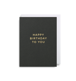 Happy Birthday to You: Mini Card