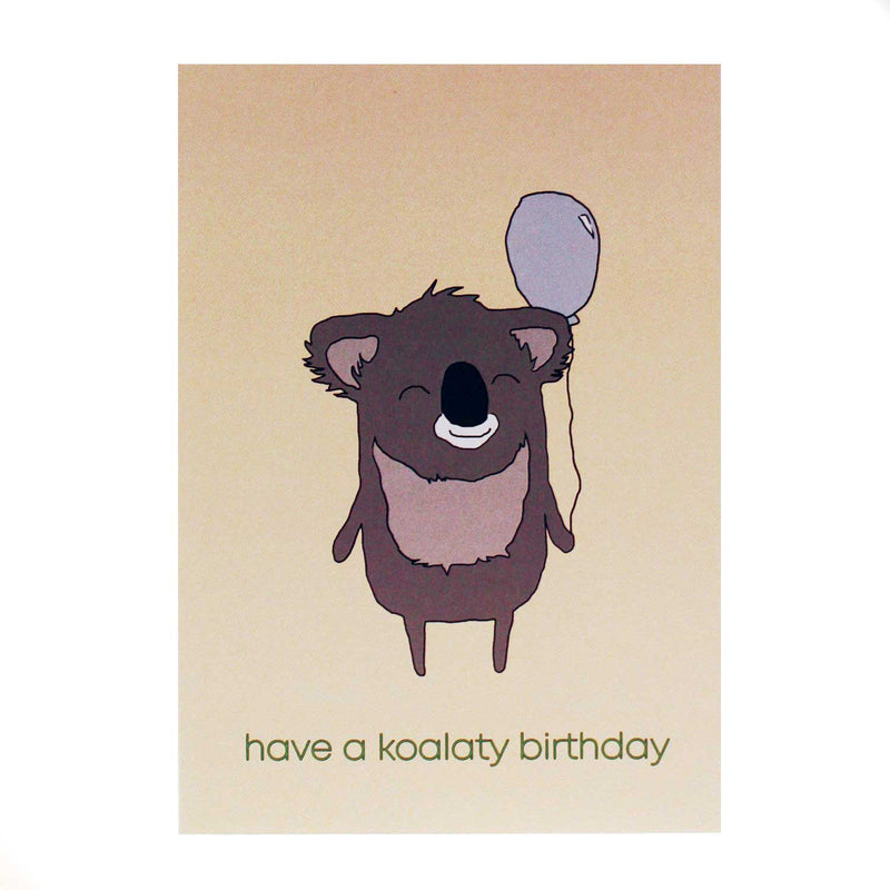 Have a Koalaty Birthday