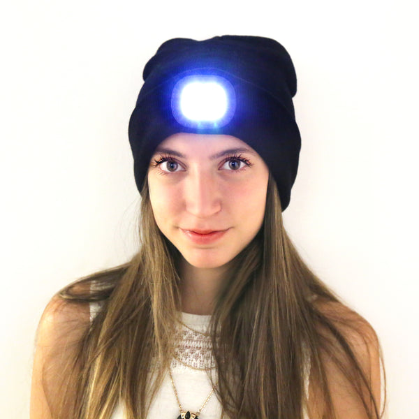 Head lamp hat
