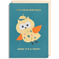 It's Your Birthday, Hope it's a Hoot