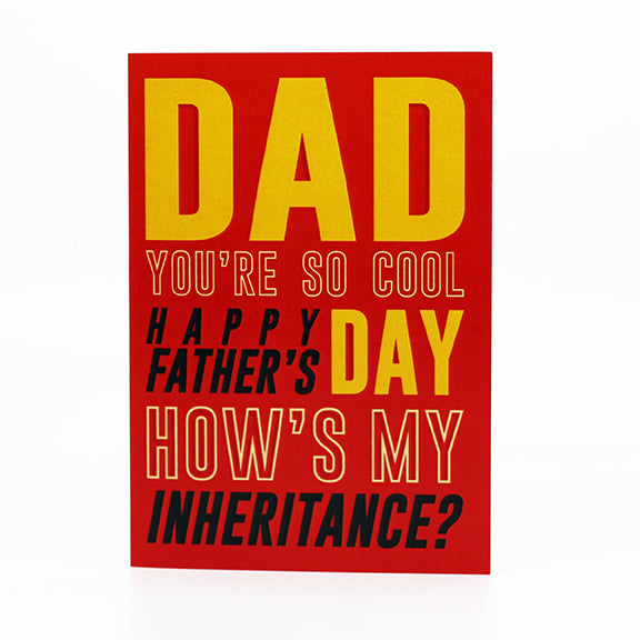 How's My Inheritance?