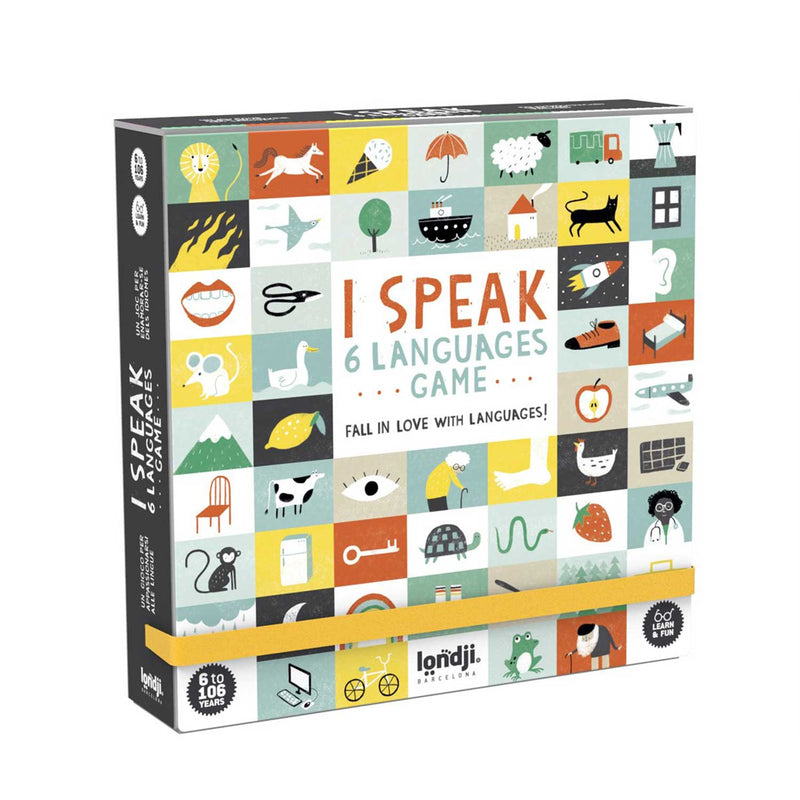 I Speak 6 Languages - language game