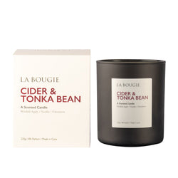 Cider & Tonka Bean - La Bougie Candles