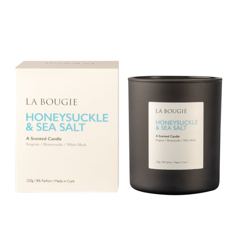 Honeysuckle & Seasalt - La Bougie Candles