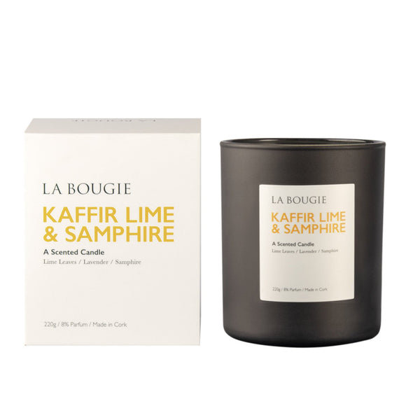 Kaffir Lime & Samphire - La Bougie Candles